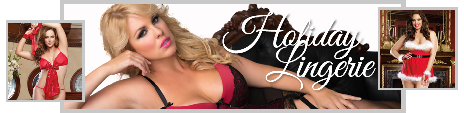 Plus Size Holiday Lingerie