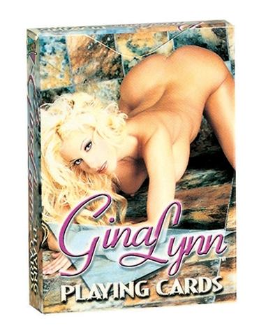 GINA LYNN PLAYING CARDS