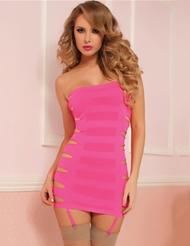 FLASHY SLICE DRESS