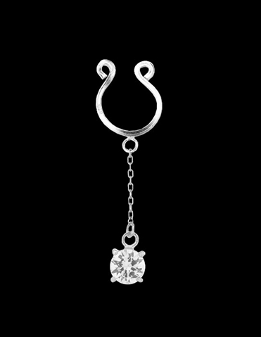 DIAMOND DANGLE NIPPLE CLIP ON