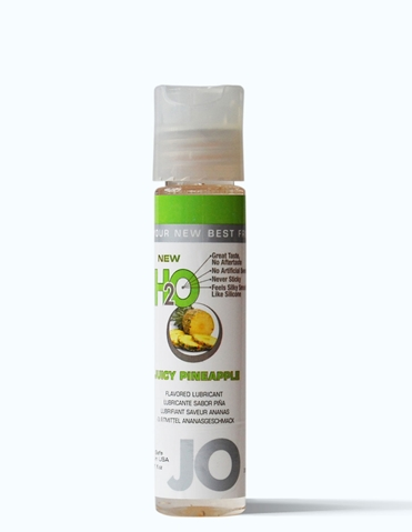 JO H2O FLAVORED LUBE 1OZ - JUICY PINEAPPLE