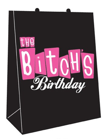 THE BITCHS BIRTHDAY GIFT BAG