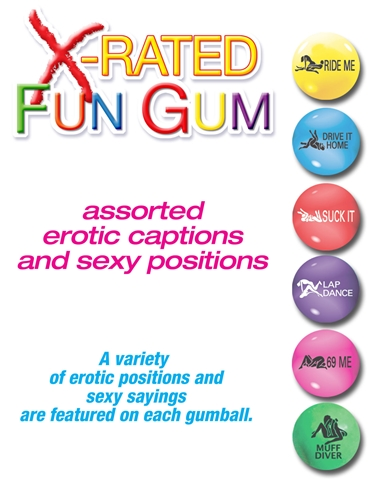 X-RATED FUN GUM