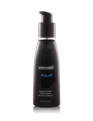 AQUA WATERBASED LUBRICANT 2OZ