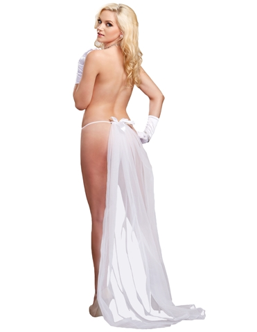 LONG VEIL THONG - PLUS