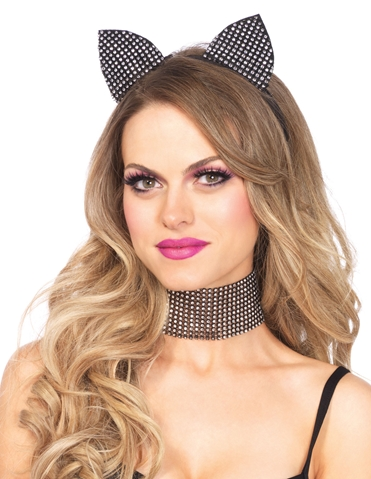RHINESTONE CAT ACCESSORY KIT