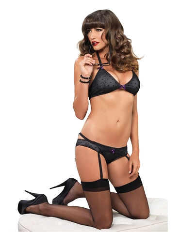 FLIRTY VIXEN BRA SET