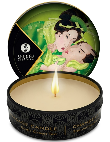 MINI MASSAGE CANDLE - EXOTIC GREEN TEA
