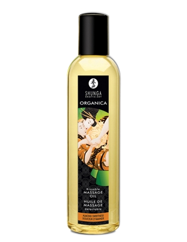 ORGANICA KISSABLE MASSAGE OIL ALMOND SWEETNESS