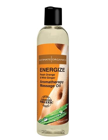 ENERGIZE MASSAGE OIL 4OZ