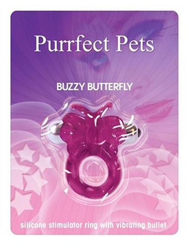 PURRFECT PETS BUZZY BUTTERFLY C-RING