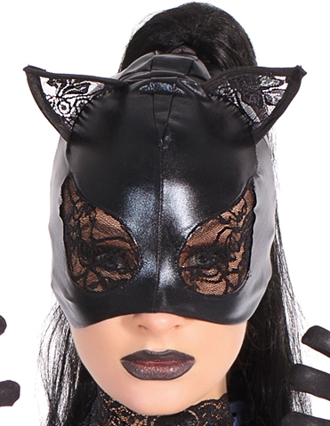 LACE CAT PROWLER MASK