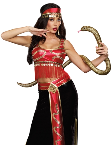 SEXY SNAKE CHARMER COSTUME