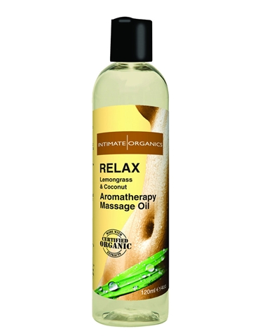 RELAX AROMATHERAPY MASSAGE OIL 4OZ