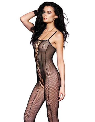 WHOS THAT GIRL FISHNET BODY STOCKING