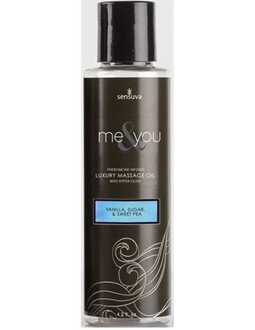 ME & YOU MASSAGE OIL - VANILLA & SWEET PEA