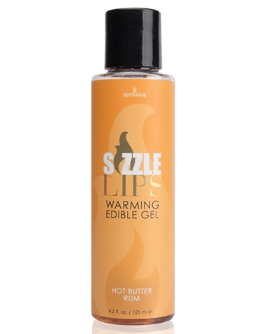 SIZZLE LIPS WARMING GEL - HOT BUTTER RUM