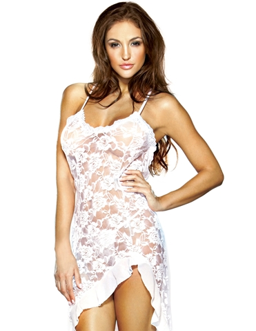 LACEY LACE DRESS