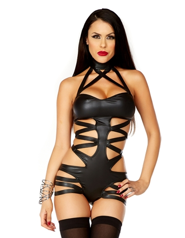 FETISH FLIRT STRAPPY BODYSUIT