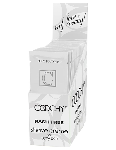 COOCHY LOVES ME .5OZ SHAVING CREAM