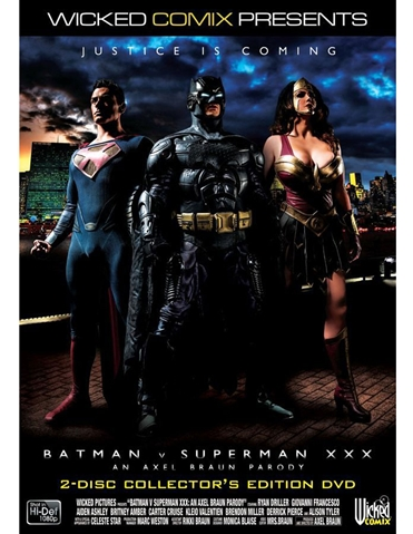 BATMAN VS. SUPERMAN XXX DVD