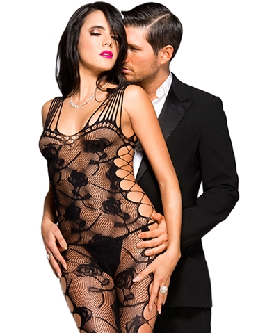 SEXY STRAPS LACE BODYSTOCKING