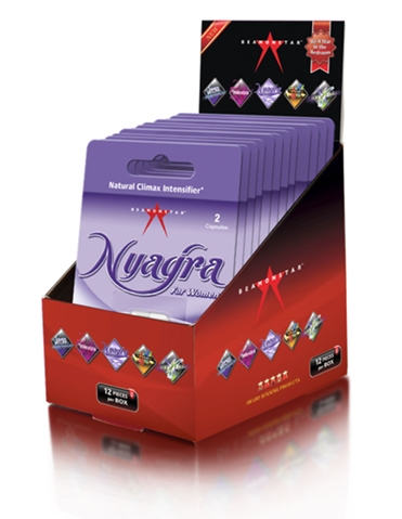 NYAGRA FEMALE CLIMAX INTENSIFIER 2 PACK