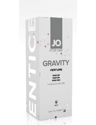 GRAVITY PERFUME WITH PHEROMONES FOR HER