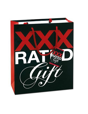 XXX RATED GIFT BAG