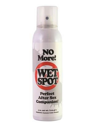 NO MORE WET SPOT SHEET SPRAY