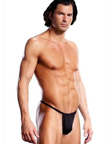 PERFORMANCE MICROFIBER V-STRING THONG