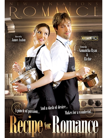 RECIPE FOR ROMANCE DVD