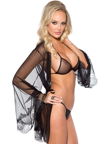 SHOWTIME BRA SET WITH ROBE