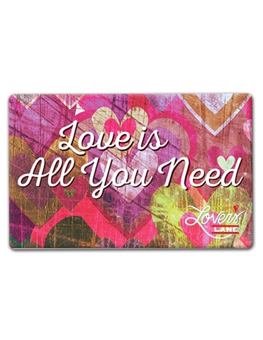 Love Is All You Need Valentines E-gift C