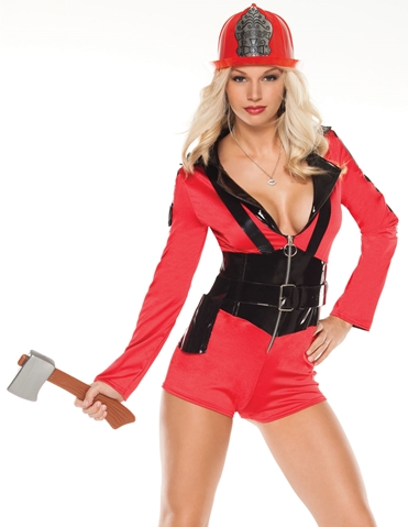 FIREFIGHTER GIRL COSTUME