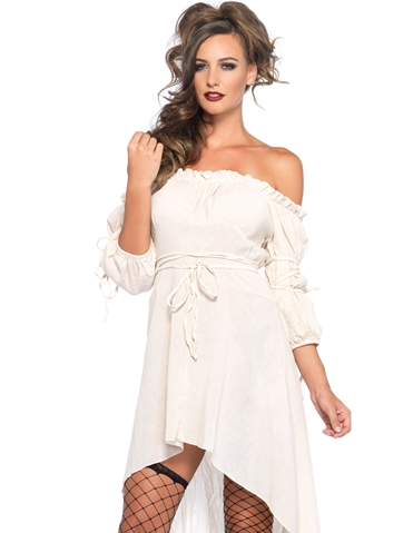 GAUZE PEASANT DRESS