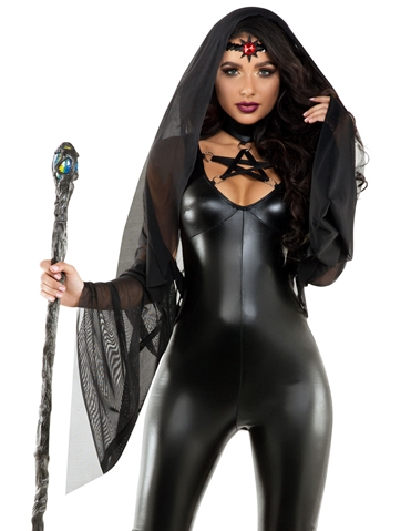 BLACK MAGIC SORCERESS COSTUME