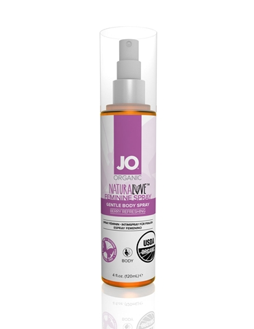 JO NATURALOVE ORGANIC FEMININE SPRAY 4OZ