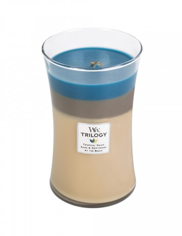 NAUTICAL ESCAPE TRILOGY WOODWICK CANDLE