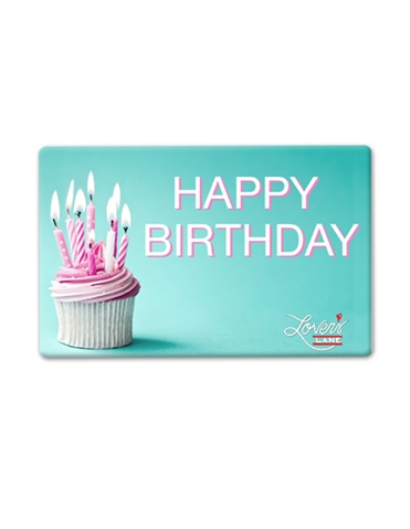 Happy Birthday Candles E- Gift Card