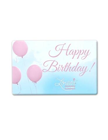 Happy Birthday Balloons E-Gift Card