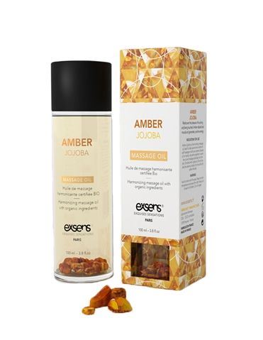 EXSENS AMBER JOJOBA CRYSTAL MASSAGE OIL