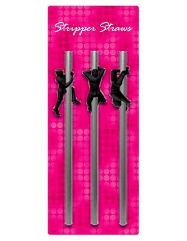 STRIPPER STRAWS- MALE