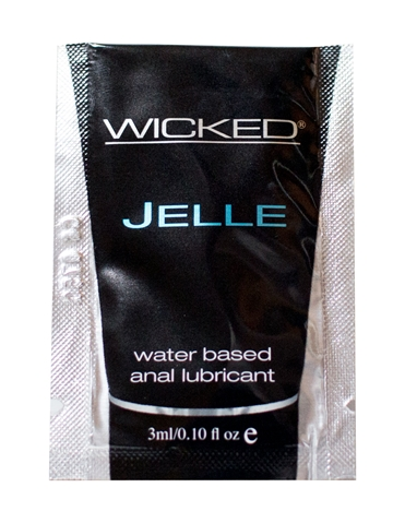 JELLE ANAL LUBE PACKETTE