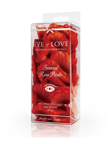 EYE OF LOVE SENSUAL ROSE PETALS- RED