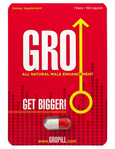 GRO ENHANCEMENT PILL FOR HIM