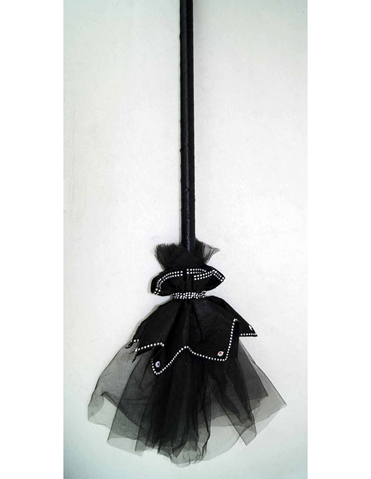 ELEGANT WITCH BROOM
