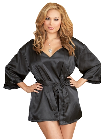 CHEMISE WITH ROBE - PLUS