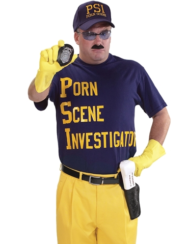PORN SCENE INVESTIGATOR COSTUME