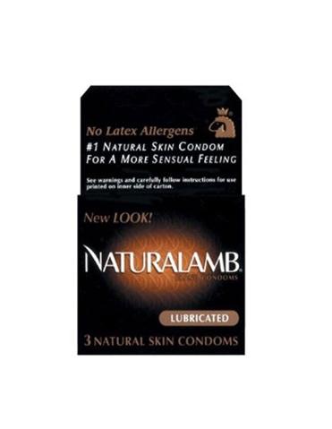NATURALAMB 3PK CONDOMS